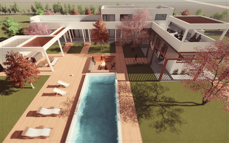 Umbral arquitectura casa los aromos